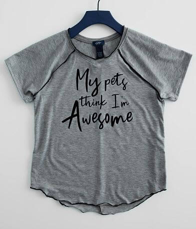 Girls - Daytrip My Pets Think I'm Awesome T-Shirt