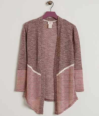 Girls - Daytrip Open Weave Cardigan Sweater