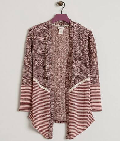 Girls - Daytrip Open Weave Cardigan Sweater