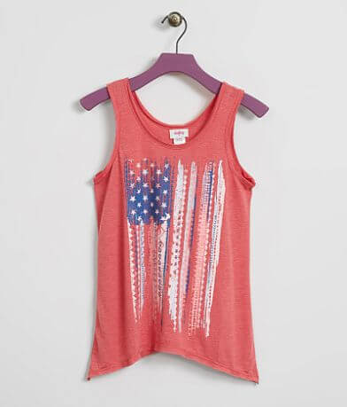 Girls - Daytrip Flag Tank Top