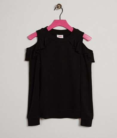 Girls - Daytrip Cold Shoulder Sweatshirt