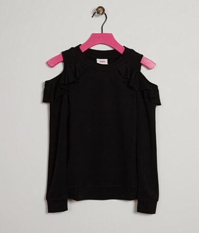Girls - Daytrip Cold Shoulder Sweatshirt