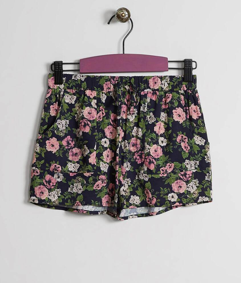 Girls - Daytrip Floral Shorts front view