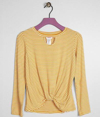 Girls - Daytrip Twisted Hem Top