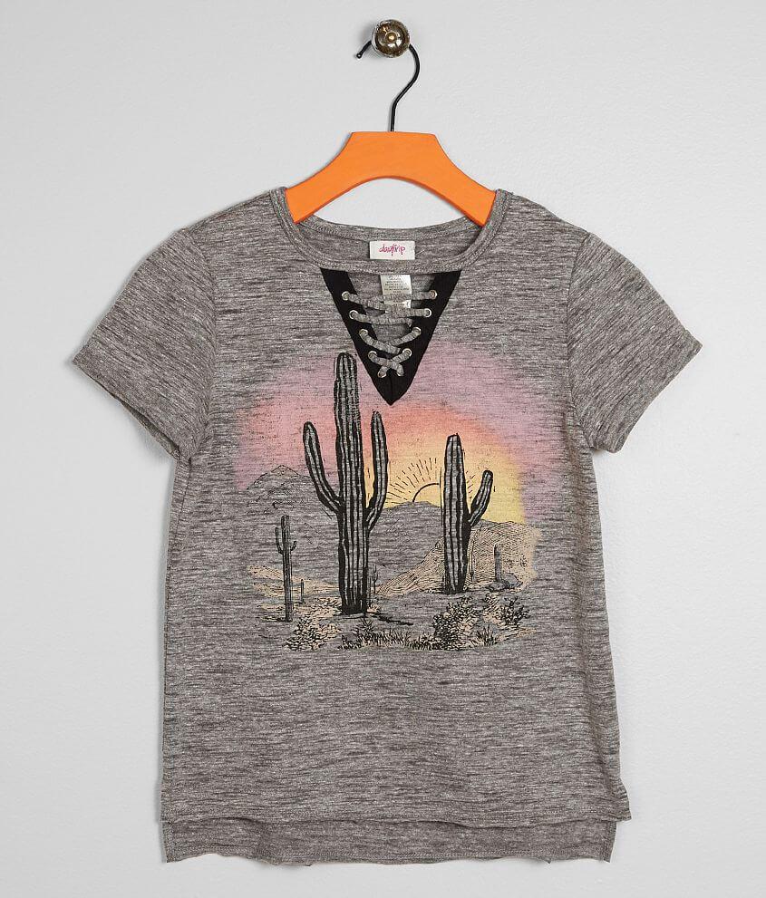 647af43c24f8 Girls - Daytrip Cactus T-Shirt - Girl's T-Shirts in Light Heather ...