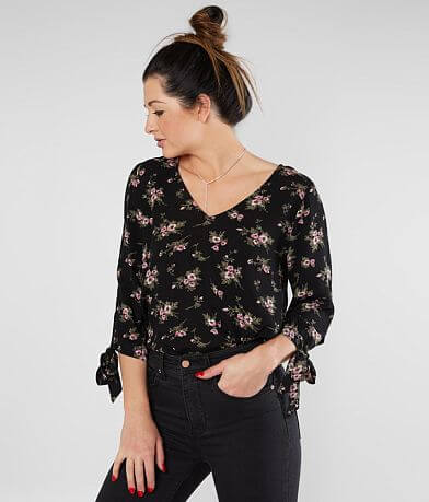 Daytrip Floral V-Neck Top