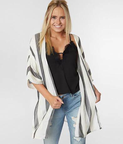 Daytrip Striped Woven Kimono