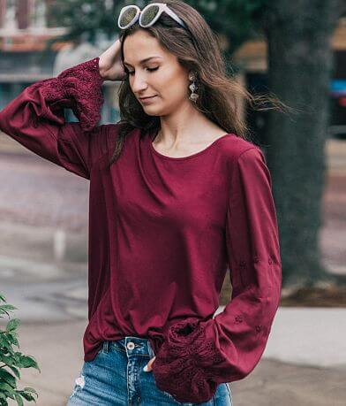 willow & root Embroidered Top