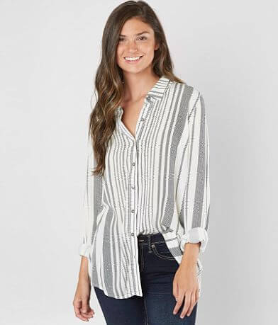 Daytrip Twist Back Woven Shirt
