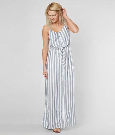 Daytrip Striped Maxi Dress