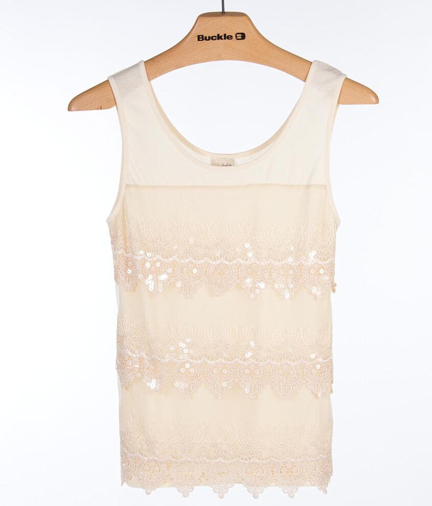 Daytrip Tiered Tank Top front view