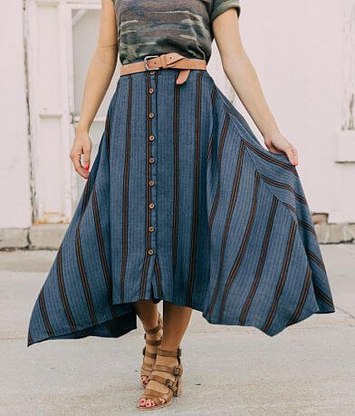 willow & root Striped Skirt