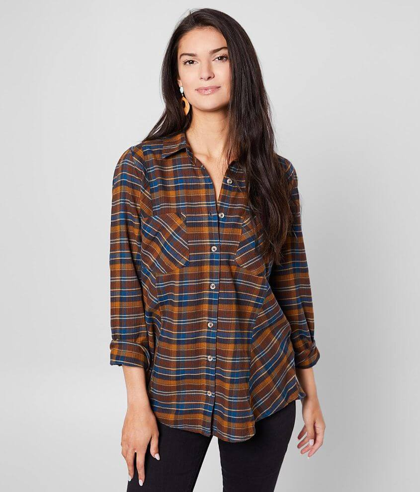 Daytrip Flannel Shirt front view