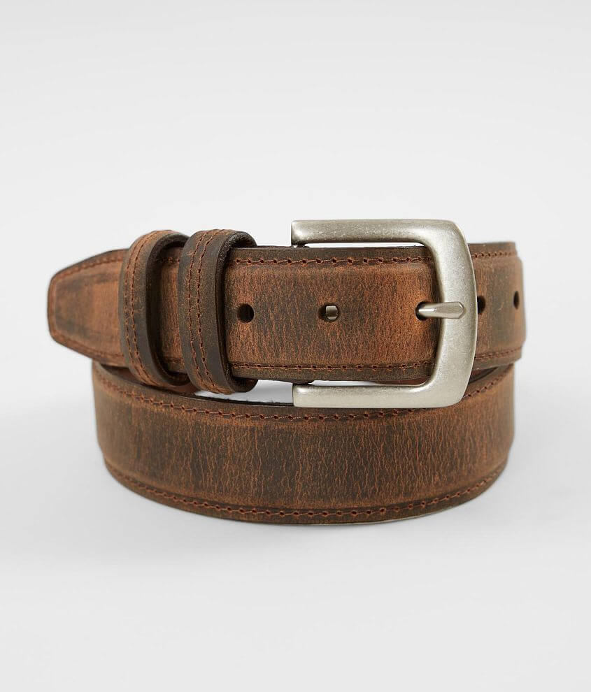 BKE Simon Leather Belt front view