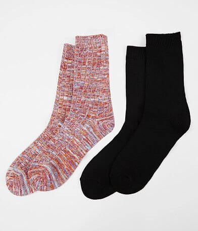 Legale® Assorted 2 Pack Crew Socks