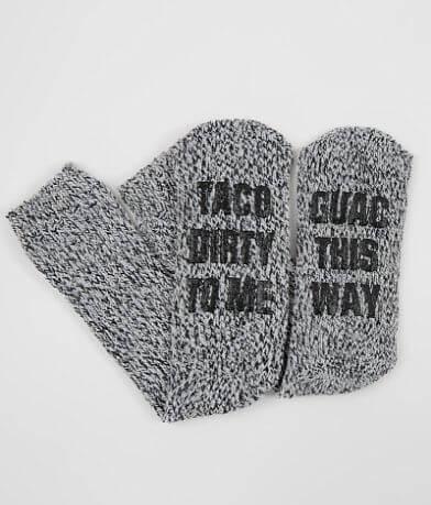 BKE Taco & Guac Socks
