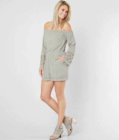 Doe & Rae Off The Shoulder Romper