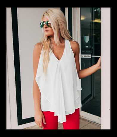 Doe & Rae Layered Tank Top