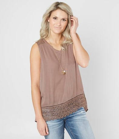 Doe & Rae Pieced Tank Top