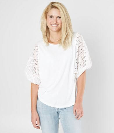 Doe & Rae Embroidered Top