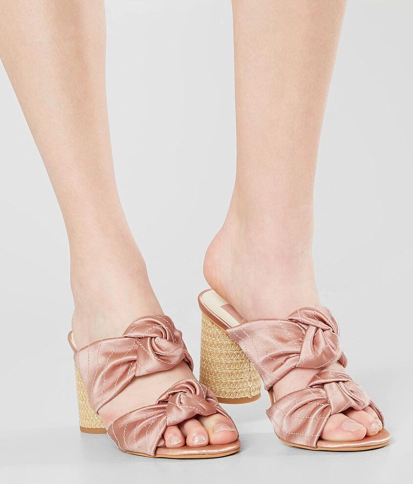 083c92b80ec2 Dolce Vita Jene Heeled Mule Sandal - Women s Shoes in Blush Satin ...