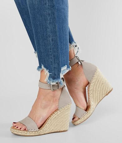 Dolce Vita Noor Leather Espadrille Wedge Sandal