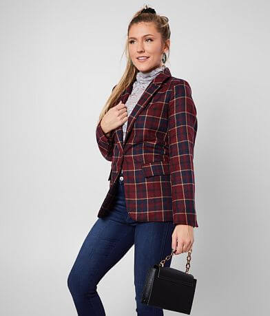 dollhouse® Plaid Blazer