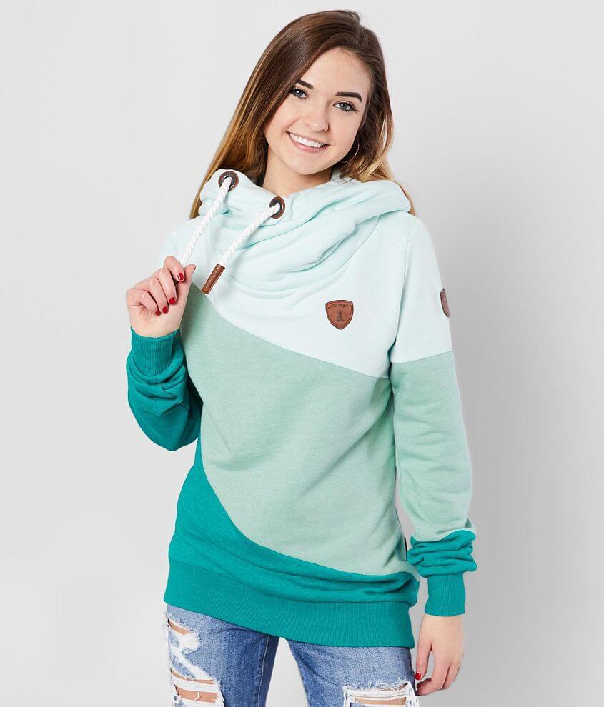 Wanakome Selene Color Block Hooded Sweatshirt front view