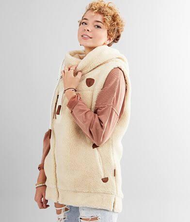 Wanakome Kira Sherpa Hooded Vest