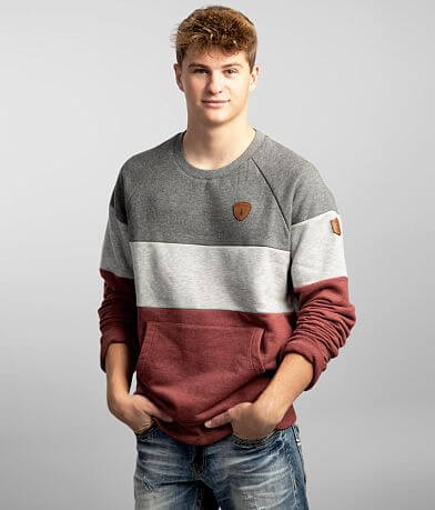 Wanakome Pollux Color Block Crew Neck Sweatshirt