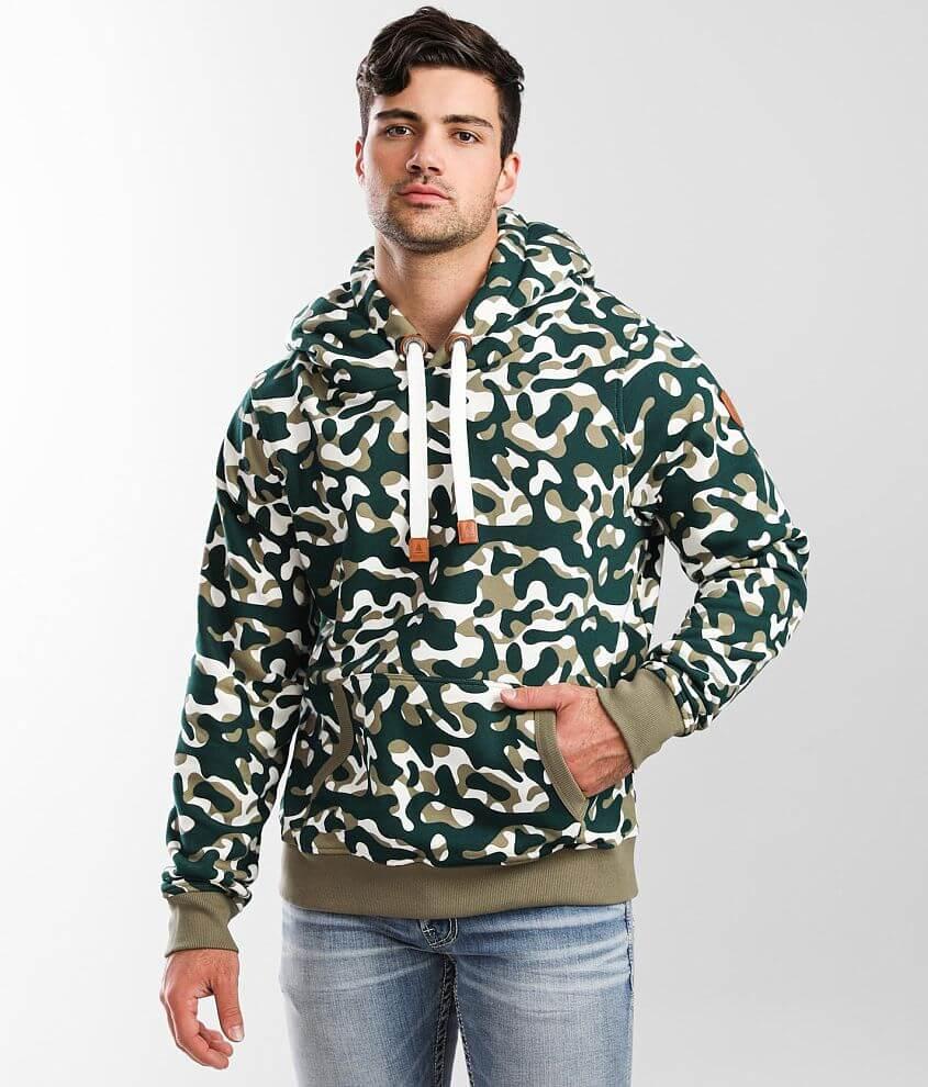 Wanakome Baker Hooded Sweatshirt front view