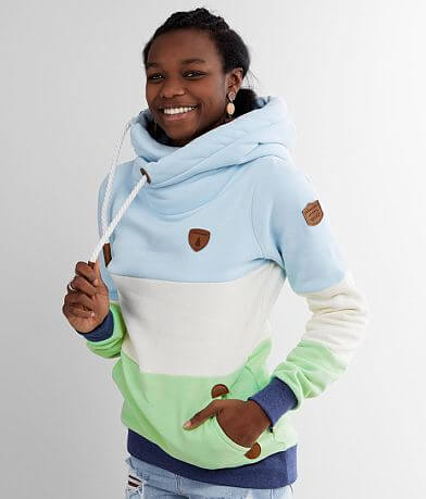 Wanakome Color Block Hooded Sweatshirt