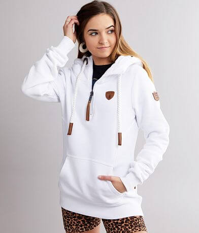 Wanakome Noella Hooded Quarter Zip Sweatshirt