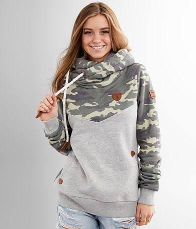 Wanakome Andrea Camo Hooded Sweatshirt