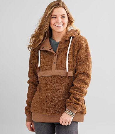 Wanakome Mara Sherpa Hooded Sweatshirt