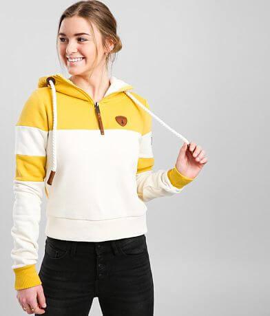 Wanakome Phoenix Color Block Hooded Sweatshirt