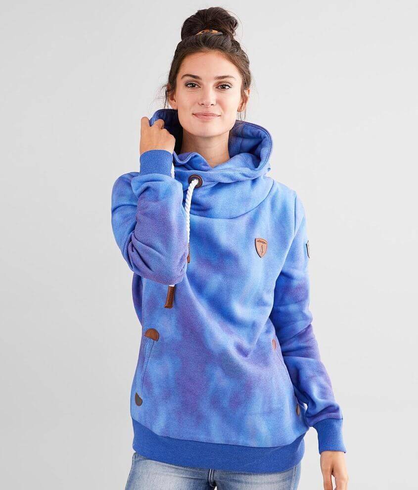 Wanakome Artemis Tie Dye Hooded Sweatshirt front view