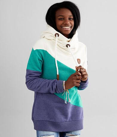 Wanakome Selene Asymmetrical Hooded Sweatshirt