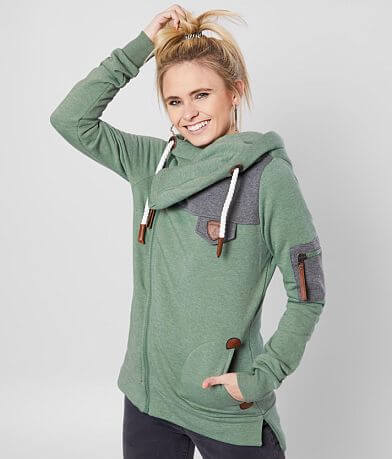 Wanakome Athena Asymmetrical Hooded Sweatshirt
