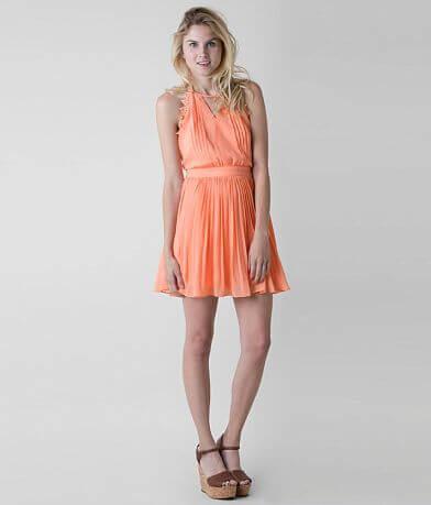 Double Zero Pleated Dress