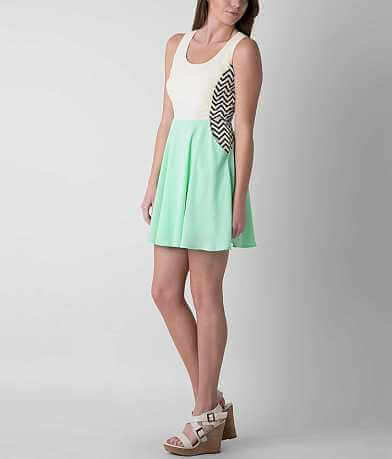 Double Zero Chevron Dress