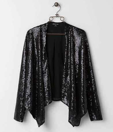 Double Zero Sequin Blazer