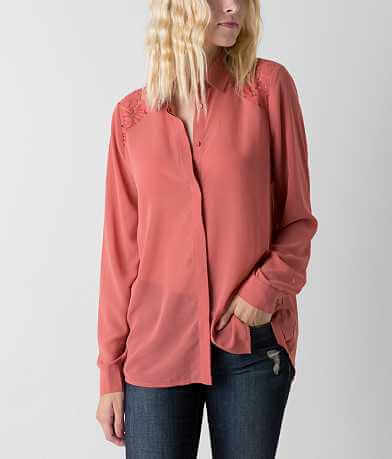 Double Zero High Low Hem Blouse