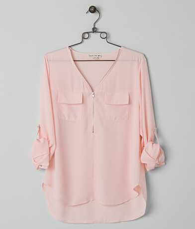 Double Zero Chiffon Top