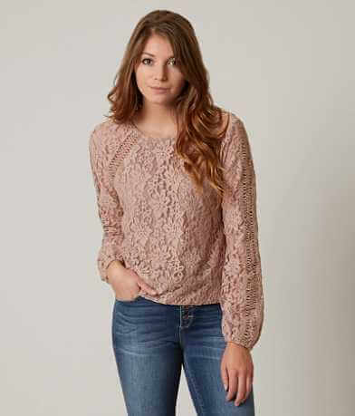 willow & root Lace Top