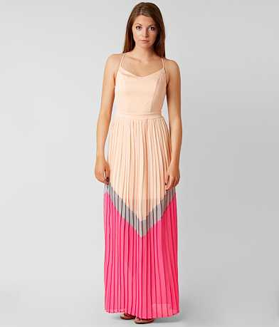 Hyfve Pleated Maxi Dress