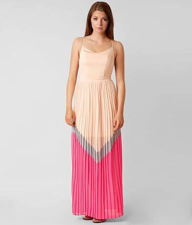 Hyfve Pleated Maxi Dress