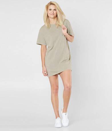 Double Zero Washed T-Shirt Dress