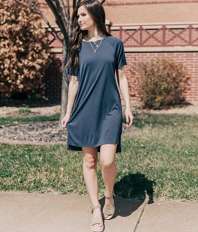 Double Zero Ribbed T-Shirt Dress