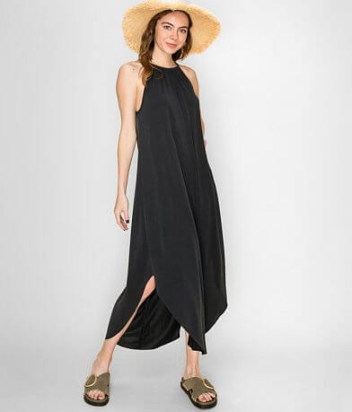 Double Zero High Neck Maxi Dress